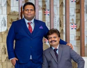 Dilip & Sammet Gugle, Founders Indrani Cosmetics