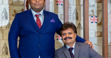 Dilip & Sammet Gugle, Founders Indrani Cosmetics