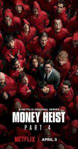 LA CASA DE PAPEL on Netflix. Image source: Internet
