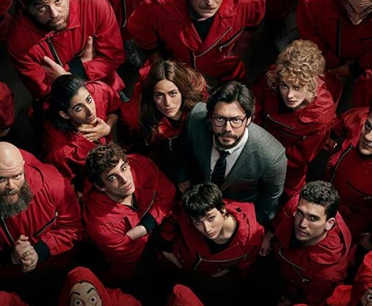 LA CASA DE PAPEL on Netflix. Image source: Internet