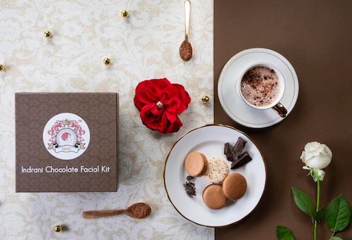 Glow with sinful Chocolate Facial from Indrani Cosmetics