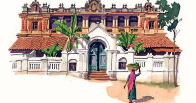 Let's revisit the glory of Chettinad. Photo credit: Postcard from . . . Chettinad from Financial Times