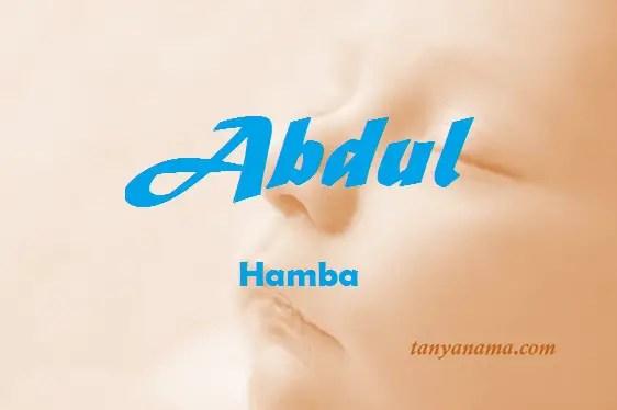 arti nama Abdul