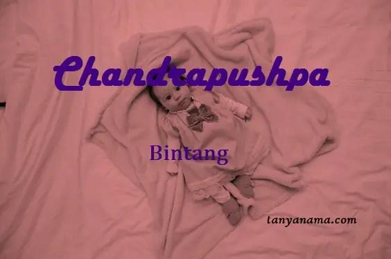 arti nama Chandrapushpa