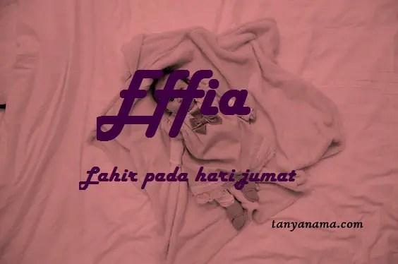 arti nama Effia
