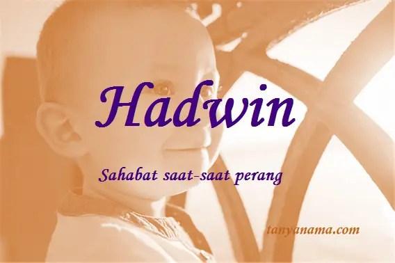 arti nama Hadwin