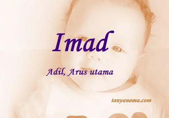 arti nama Imad