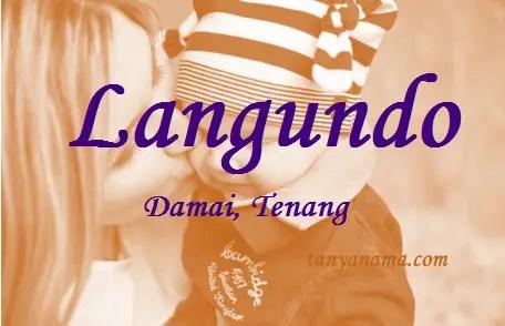 arti nama Langundo