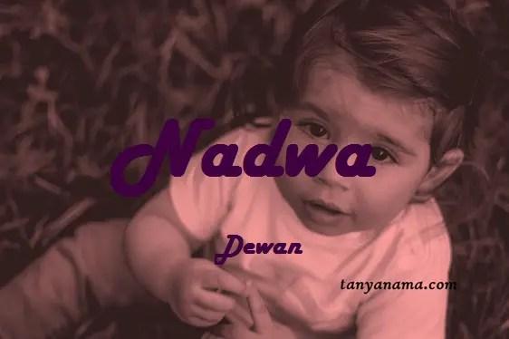 arti nama Nadwa