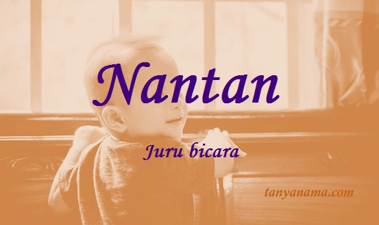 arti nama Nantan