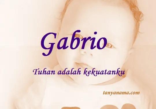 arti nama gabrio