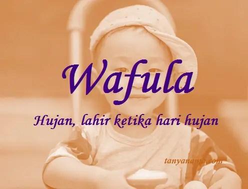 arti nama wafula