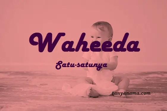 arti nama waheeda