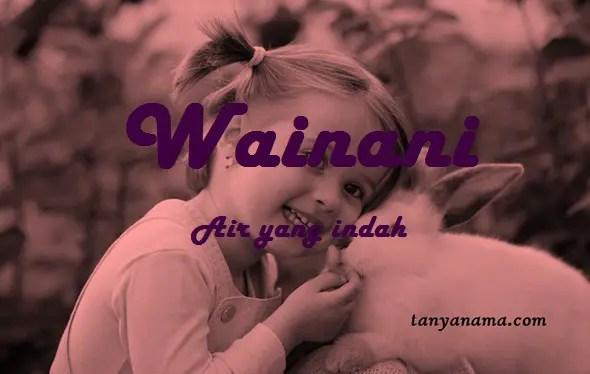 arti nama wainani