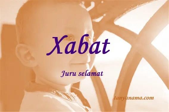 arti nama xabat