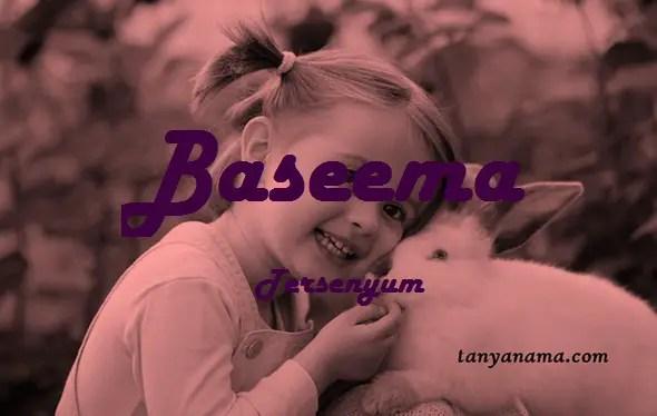 arti nama Baseema
