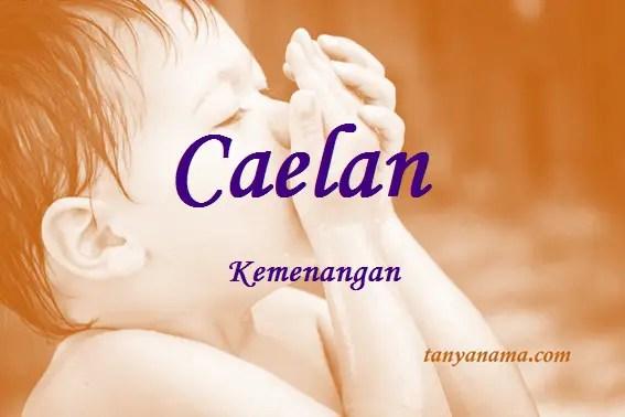 arti nama Caelan