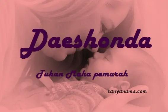 arti nama Daeshonda