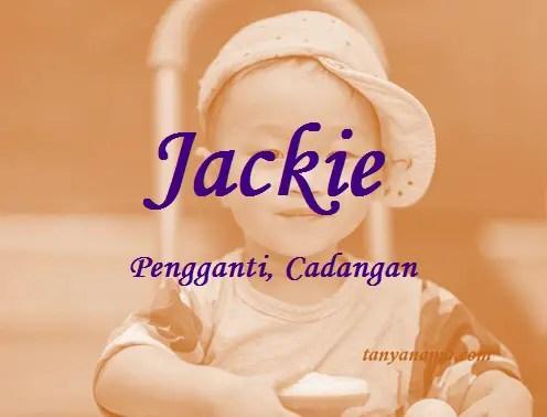 arti nama Jackie