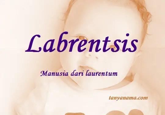 arti nama Labrentsis