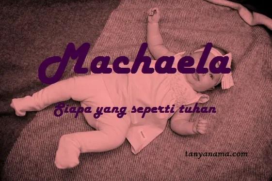arti nama Machaela