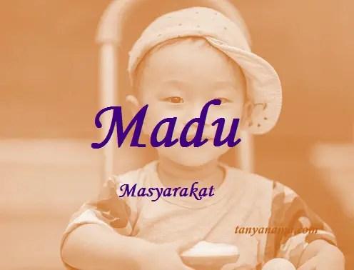 arti nama Madu