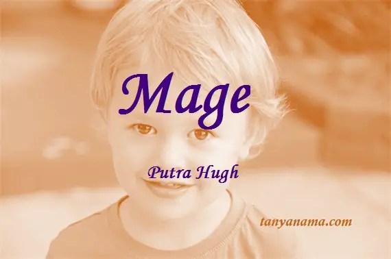 arti nama Mage