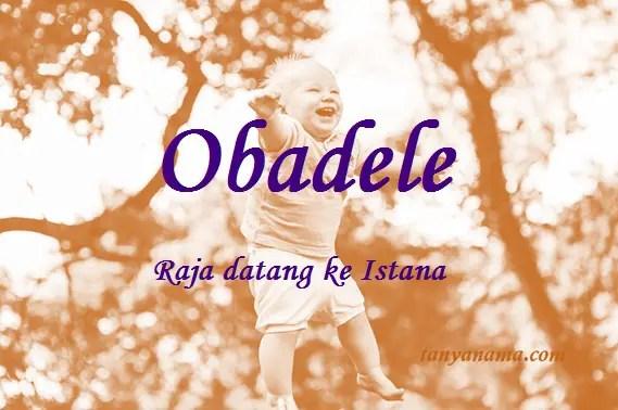 arti nama Obadele