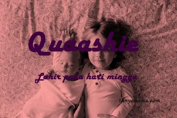 arti nama Quaashie