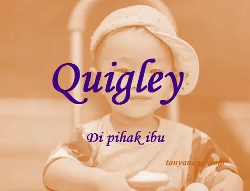 arti nama Quigley