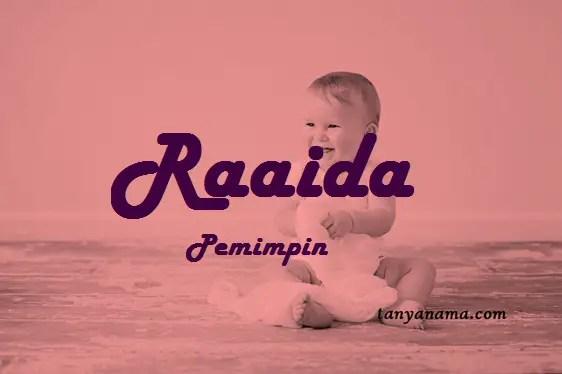 arti nama Raaida