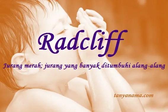 arti nama Radcliff