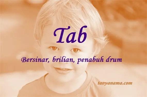 arti nama Tab