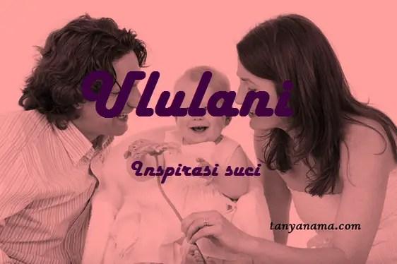 arti nama Ululani