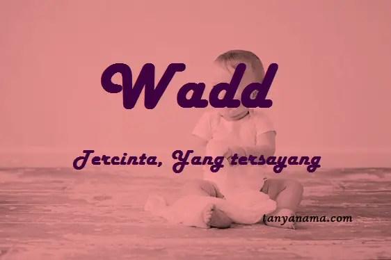 arti nama Wadd