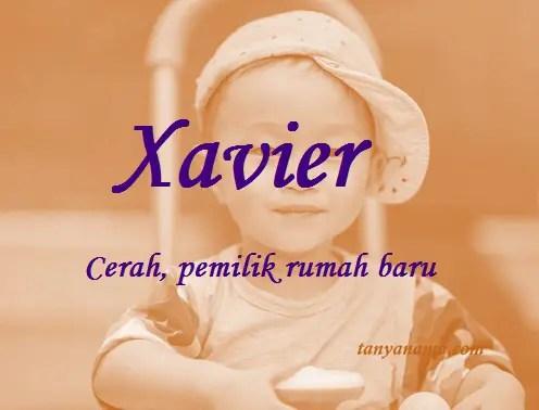 arti nama Xavier