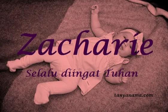 arti nama Zacharie