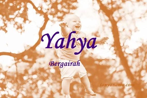arti nama yahya
