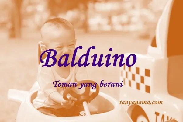 arti nama Balduino