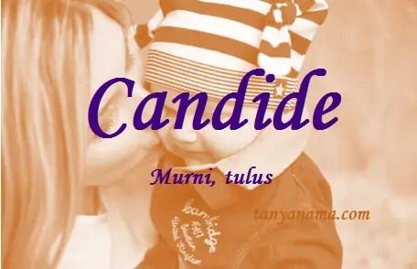 arti nama Candide