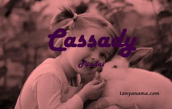 arti nama Cassady