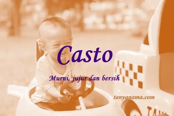 arti nama Casto