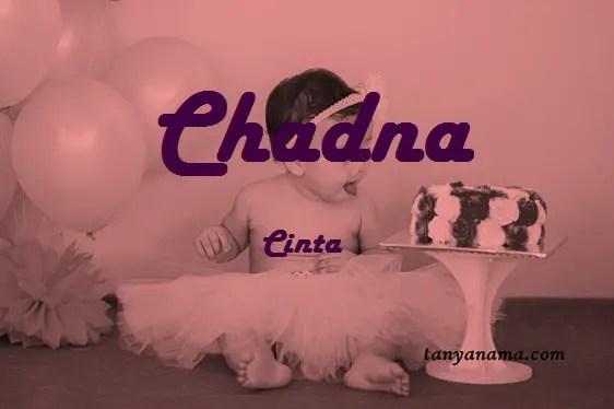 arti nama Chadna