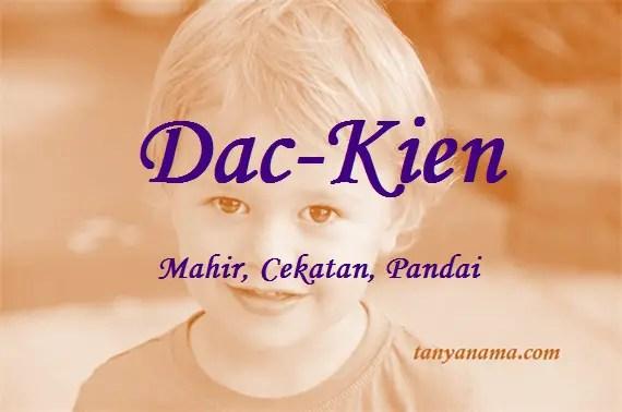 arti nama Dac-Kien