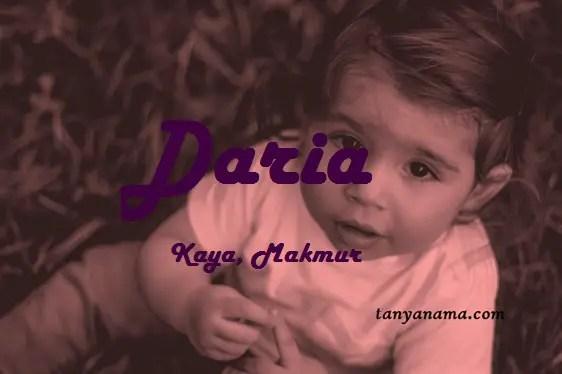 arti nama Daria