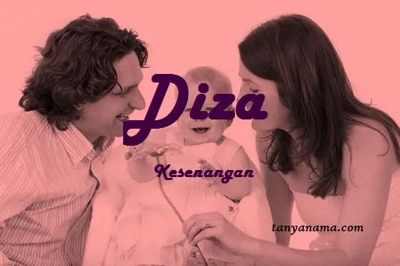 arti nama Diza