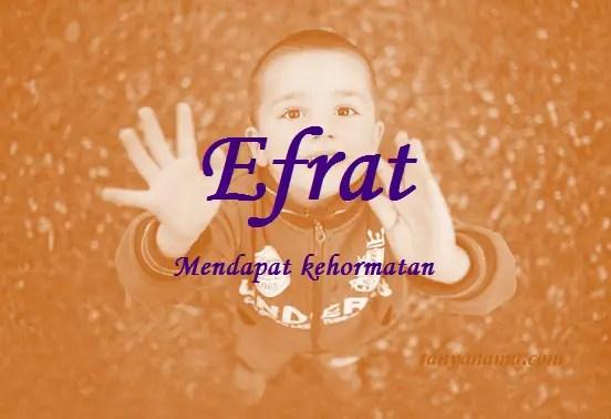arti nama Efrat