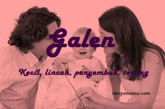 arti nama Galen