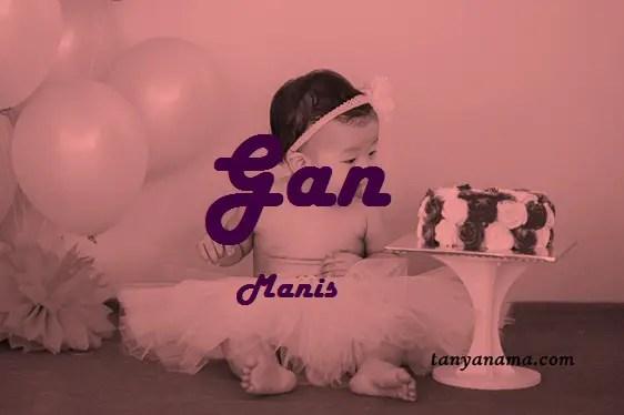 arti nama Gan