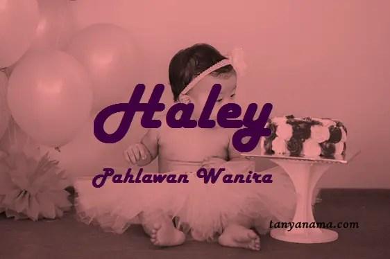 arti nama Haley